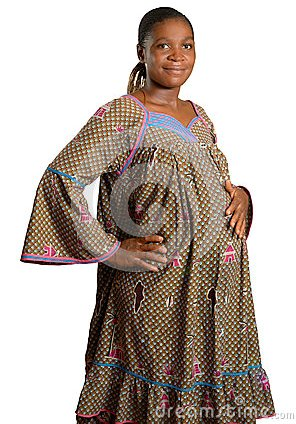 pregnant-african-woman-traditional-clothes-37634361