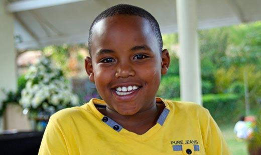 Joy's nephew Kyle. Too handsome.