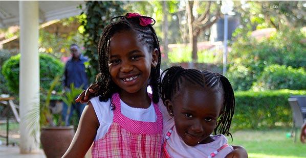 Joy's nieces.