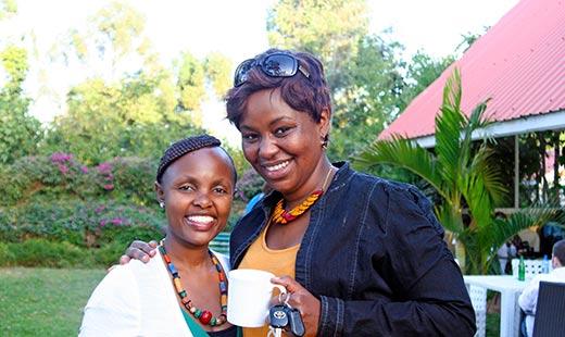 Me and Mwarikhwa Carol.