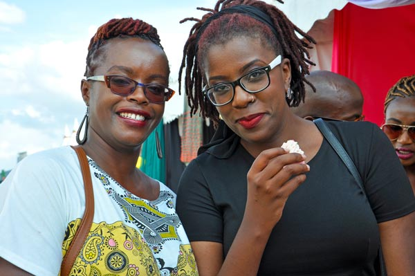 Catherine Wangari and Ciru Muriuki