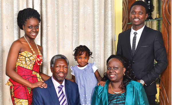 The Nyangao family. Photo: Parents magazine.