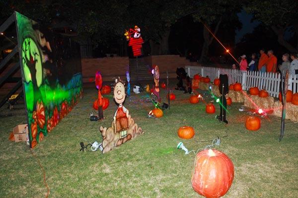 The pumpkin trail.