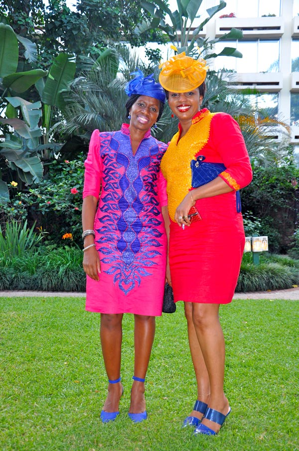 Wangui Kariuki (left) and Christine Kagwiria (right). Stunning.