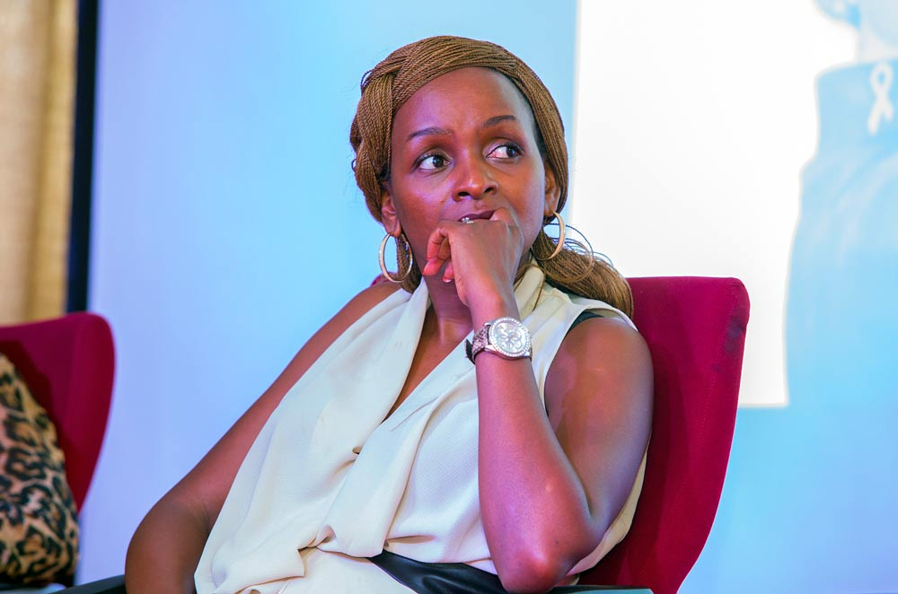 Elizabeth Mbogo-Mwendwa, Founder and Director of  BotanicTreasuresLtd participates in the endometriosis awareness forum on 5 March 2016. The company produces natural health products and supplements, among them moringa oleifera.