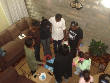 God has been good to us -we have 12 children between the nine of us.