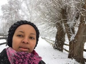Ann in winter :)