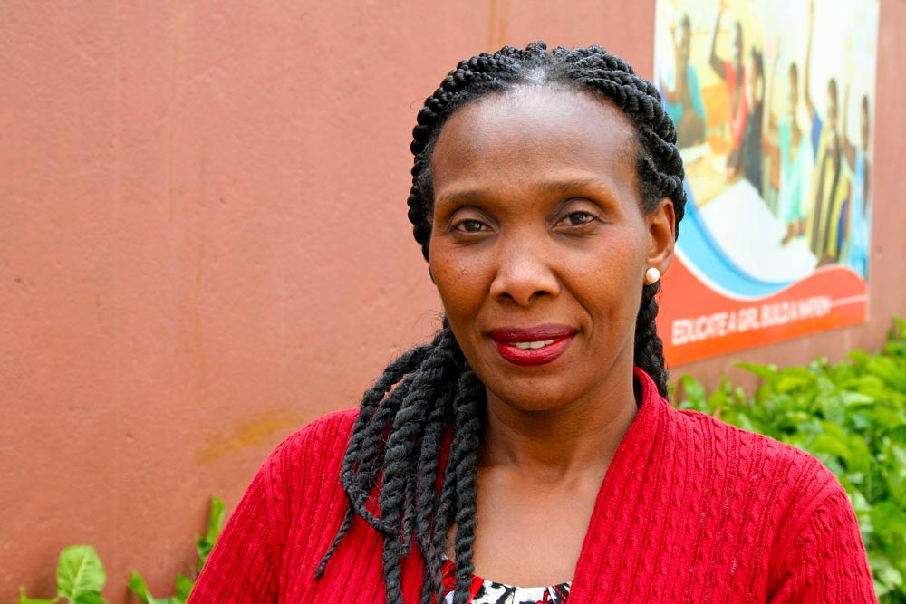 Edith Kanyingi of the Centre for Domestic Workers and Training