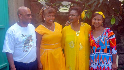 The Laurence family.