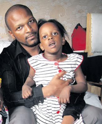 Patrick with his dear daughter.