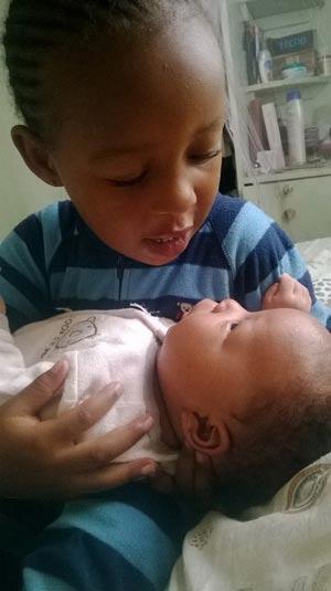 Fanne's babies. Too sweet!