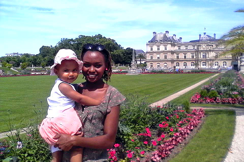 Rahab with her beautiful daughter Nouchka