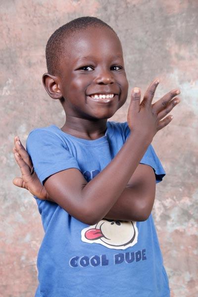 Samoina's adorable son. Photo:  Blackmerg Studios