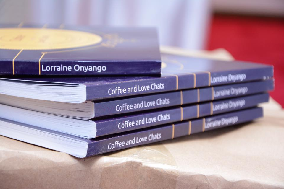 The 'Coffee and Love Chats' book, which contains Waturi and Ernest's marriage experiences.