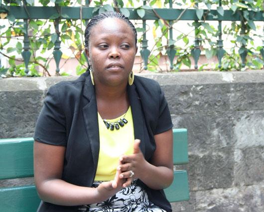 Wanjiru Kihusa, a very inspirational and strong woman.