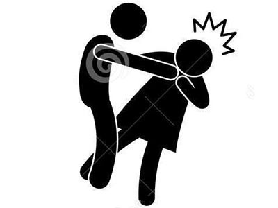 GBV-man-beating-woman