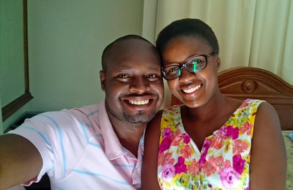 Editah and her husband.